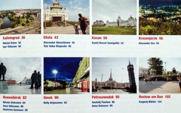 Inhaltsverzeichnis aus dem Buch Russland: Menschen und Orte in einem fast unbekannten Land