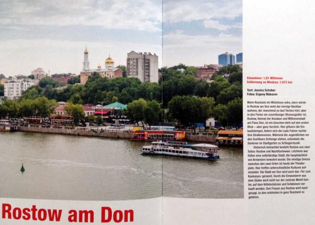 Vorstellung der Stadt Rostow am Don aus dem Buch Russland: Menschen und Orte in einem fast unbekannten Land