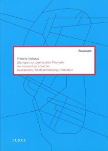Titelbild des Buches mit Übungen zur praktischen Phonetik der russischen Sprache