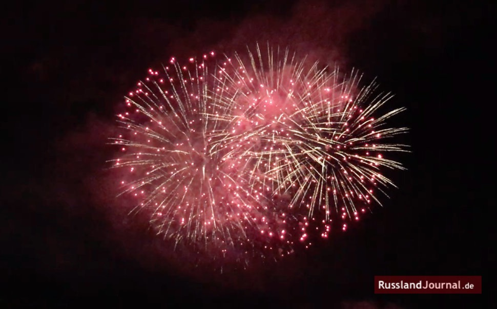 Feuerwerk im Himmel