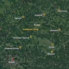 Städte des Goldenen Rings auf der Karte