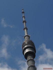 Fernsehturm Ostankino in Moskau