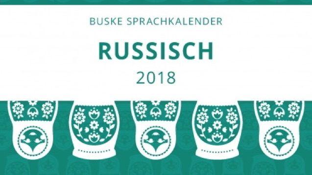 Sprachkalender Russisch 2018 Buske
