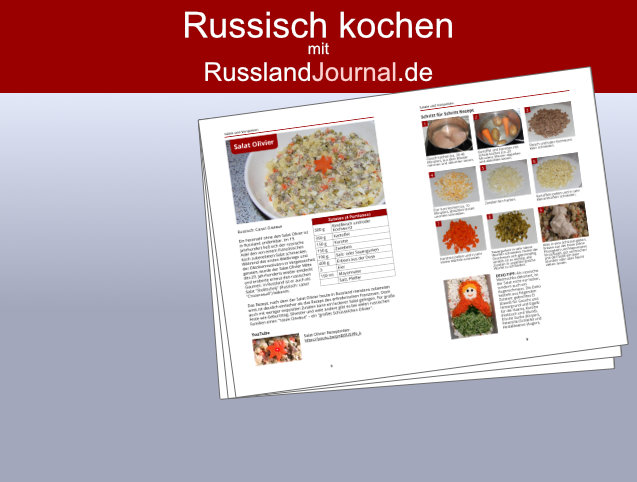 Russisch kochen mit RusslandJournal.de