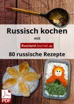 Russisch kochen mit RusslandJournal.de – Titelbild mit PDF-Icon