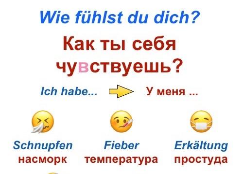 Wie fühlst du dich Russisch Deutsch