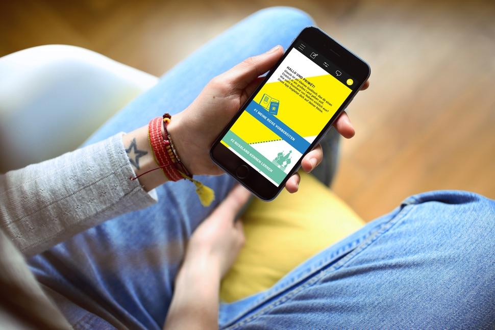 Glasok App im Smartphone