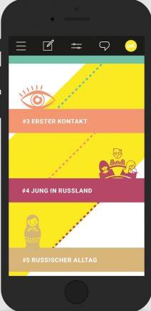 Rubrikel der Glasok-App