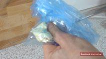 Buttercreme im Beutel