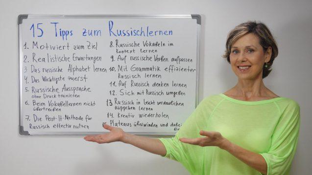 15 Tipps zum Russischlernen