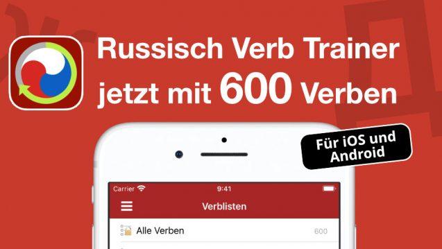 Russisch Verb Trainer 600 Verben