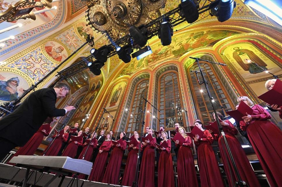 Chor in der Christ-Erlöser-Kathedrale