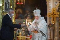 Patriarch mit dem Heiligen Feuer